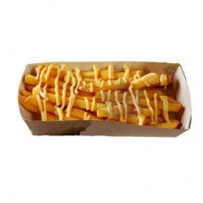 Картофель фри с сырным соусом Большая порция