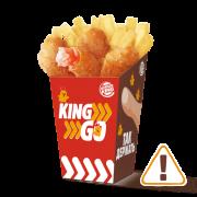 Кинг GO креветки