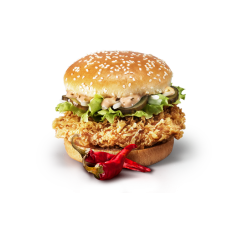 Острый Шефбургер от КФС