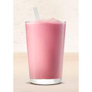 Молочно-клубничный шейк (S)
