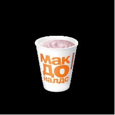 Молочный коктейль Клубничный 0,25л